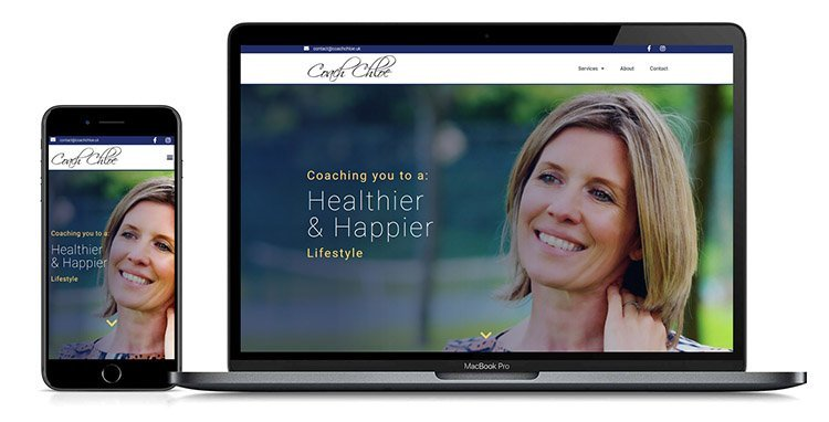 Coach Chloe Coaching Website Design By Lexi Media